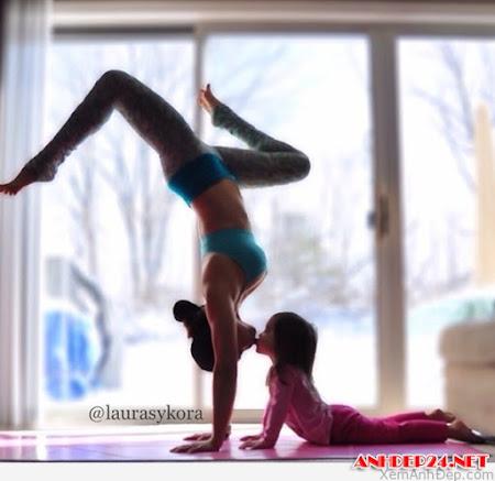 Những tư thế Yoga đôi tuyệt đẹp