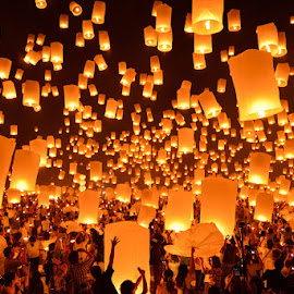yee peng festival by Nutthavood Punpeng - Public Holidays Other