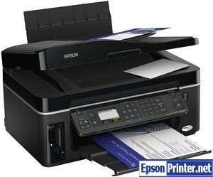 How to reset Epson BX600FW printer