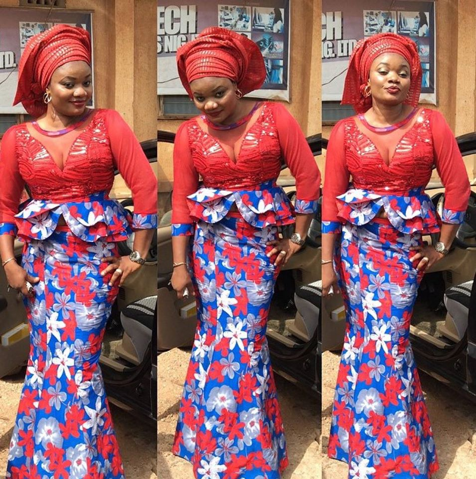 Latest Ankara Skirt And Blouse Styles In Nigeria 2017