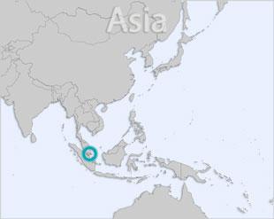 Singapore location map