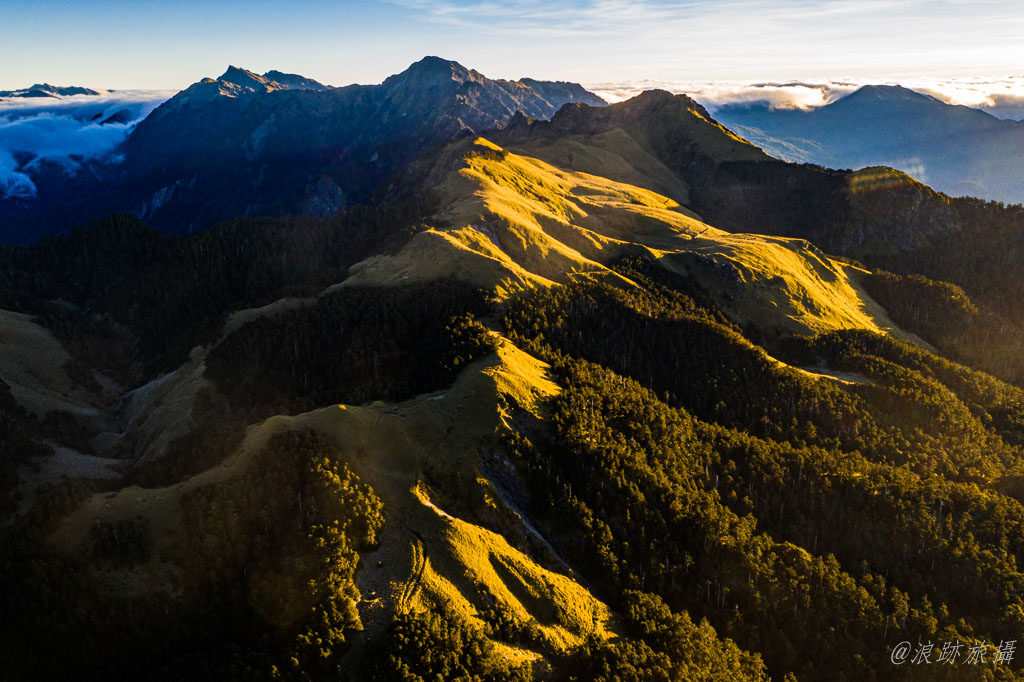 奇萊南華 奇萊主山稜線
