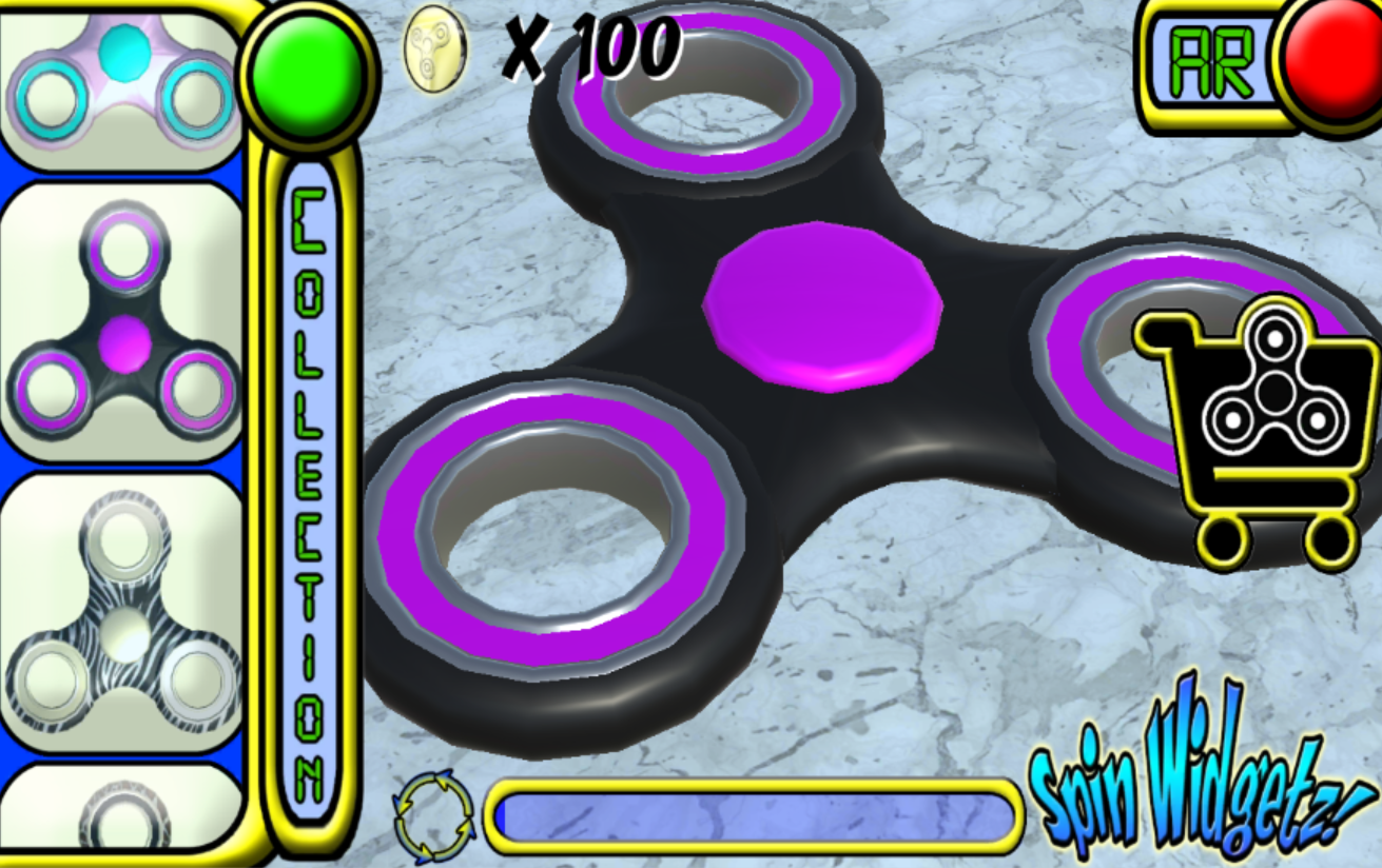 Spin Widgetz- screenshot
