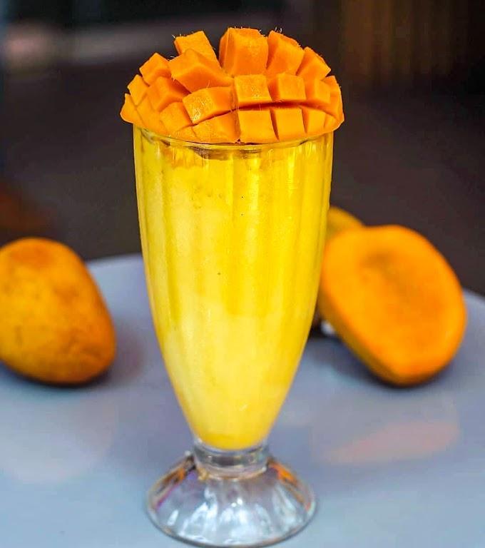 Mango Shake Recipe | Breakfast Care