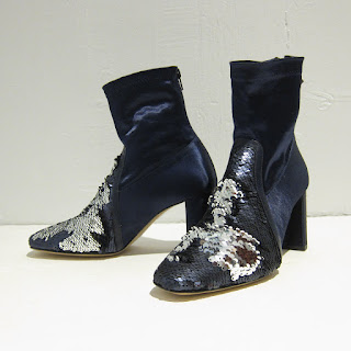 Diana Broussard Sequined Ankle Boots