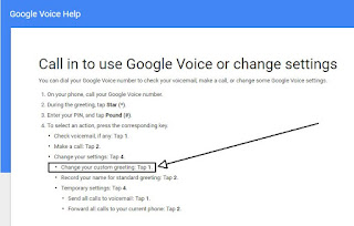 Please help cant record voicemail for gvoice on my computer even google voice greeting i posted a link did you take a peek at the documentation that it linked to m4hsunfo