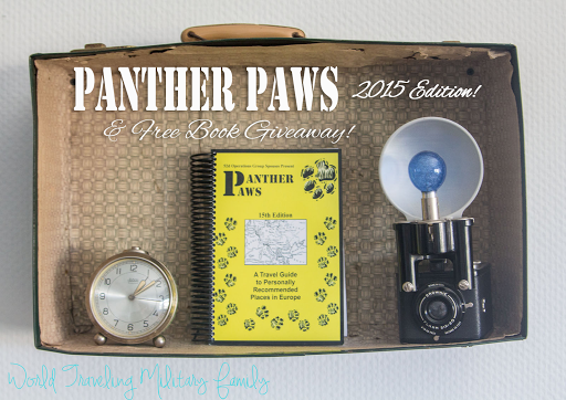 Panther Paws Travel Book