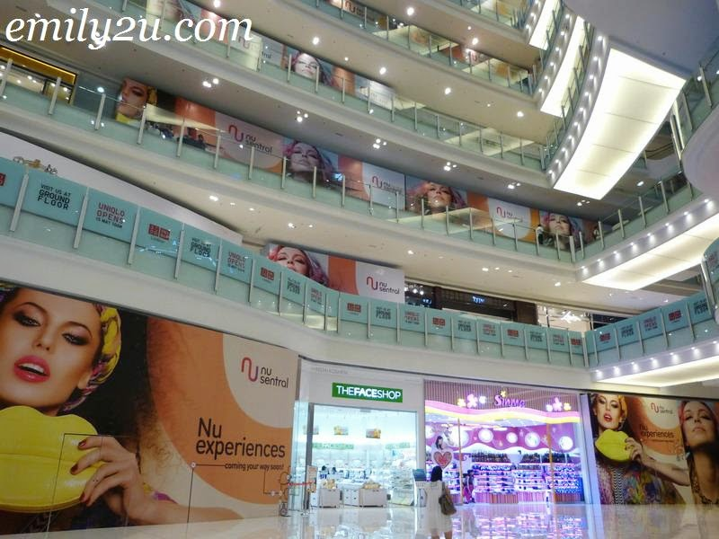 Nu Sentral Shopping Mall, Kuala Lumpur