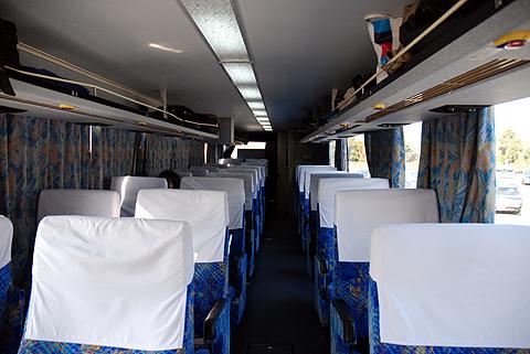 西日本鉄道「桜島号」 9906 車内