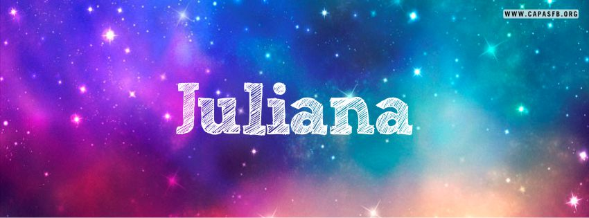 Capas para Facebook Juliana
