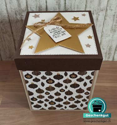 Geschenkbox Explosionsbox Überraschungsbox Tandemsprung Fallschirmsprung Gutscheinverpackung