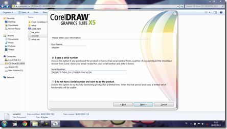 Install CorelDRAW Graphics Suite X5 - 6
