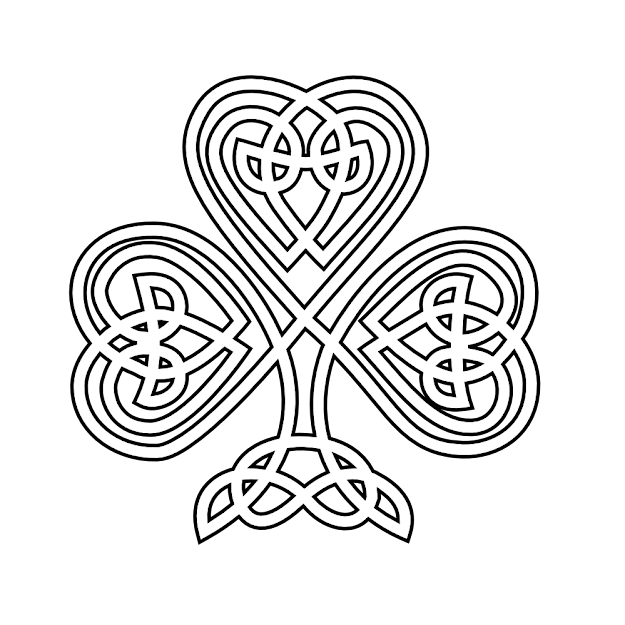 Celtic Knot Shamrock Tattoo Celtic Knot Shamrock