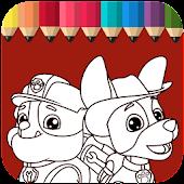 Tải Puppy Patrol Coloring Book miễn phí