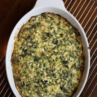 Spinach Cheddar Casserole