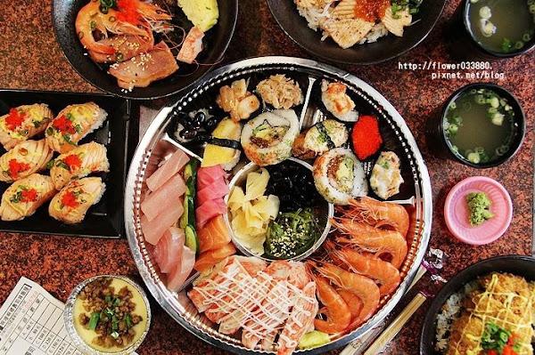啊里啊嘟壽司丼飯屋 台南美食 25年老店平價日本料理,便當可外送。綜合拼盤好豐盛!過年可以外帶加菜