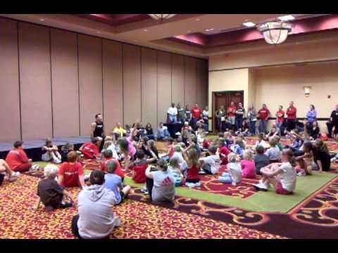 Tony Horton With Kids Event In Lincoln, Tony Horton