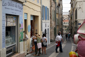 This was supposed to be some famous crazy street market dating back to the original Greek traders. Liar guide book.