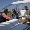 VOILE A ARCACHON : le 18 avril 2010 sur Ondine avec J.C, Flo, Fred, Marine et Sophie ____________________________
