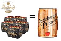 Angebot für Radeberger Pilsner Prämienaktion im Supermarkt