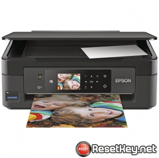 Reset Epson XP-442 ink pads are at the end of their service life