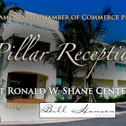 Pillar Reception at the Ronald W Shane Watersports Center