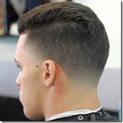 High Taper Fade with Short Top