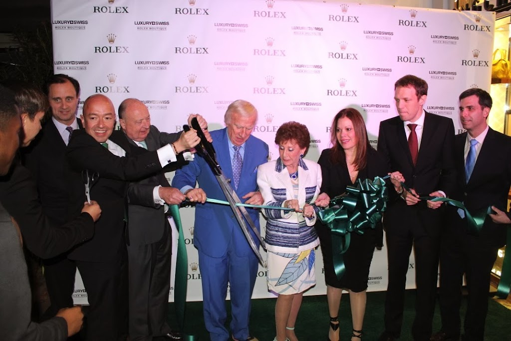 Rolex Miami Boutique Luxury Swiss LLC Ribbon Cutting 10
