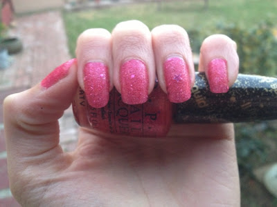 Swatch: OPI Mariah Carye Liquid Sand The Impossible