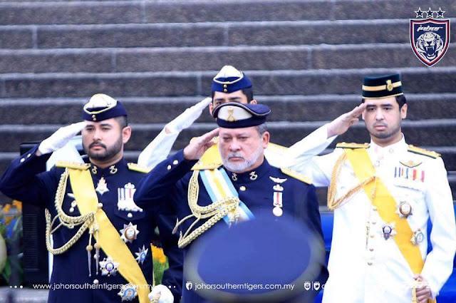 Sultan Johor Tolak Tawaran Menjadi Yang Di Pertuan Agong