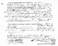 Kogel Bouwmeester, Gerrit de Geboorteakte 30-01-1837 Tienhoven.jpg