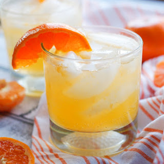 Clementine Prosecco Cocktail.