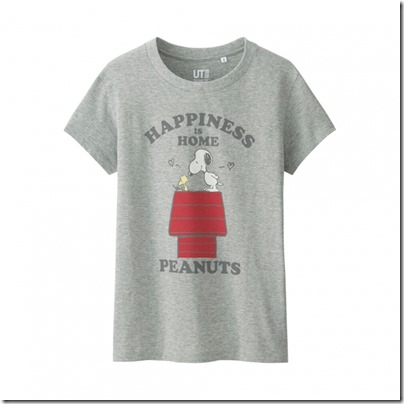 Uniqlo UT WOMEN Peanuts Short Sleeve Graphic T-Shirt 08