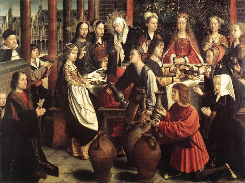 Gerard David - The marriage at Cana