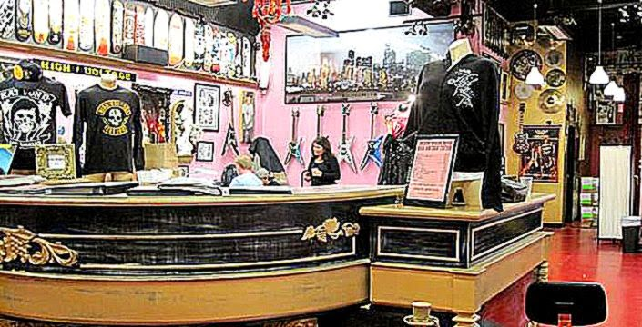 High Voltage Tattoo   Official Guide to West Hollywood