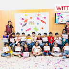 Holi Celebration by Pre-Primary Section at Witty World Bangur Nagar (2017-2018)