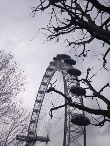 Obligatory moody shot of the London Eye
