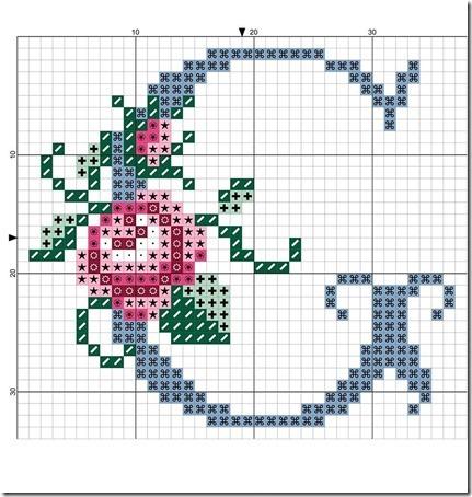 abc punto cruz letras con rosas  (6)