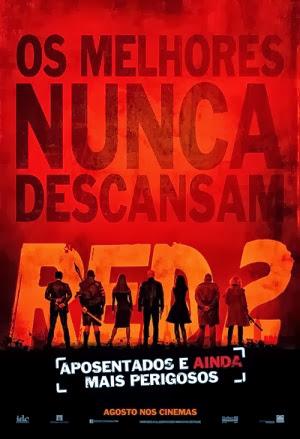 Filme Poster RED 2 - Aposentados e Ainda Mais Perigosos R6 XviD & RMVB Dublado