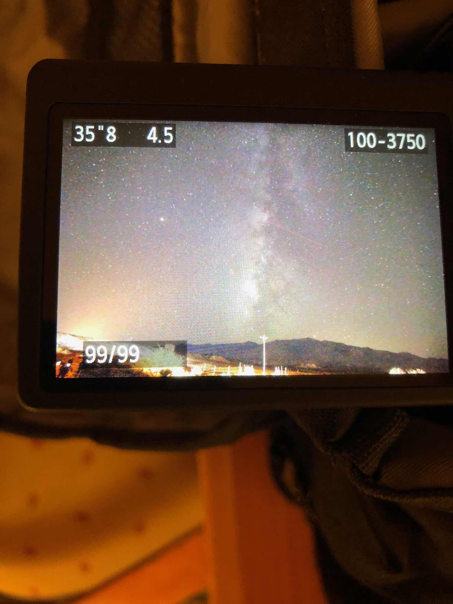Just look up in Safford, Arizona and see the Milky Way, 10mm DSLR, 35 seconds (Source: Palmia Observatory)