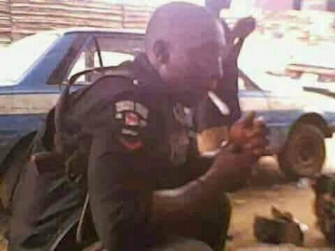 3 policemen drinking alcohol during work hours, on Thursday, at a hotel in Ilesha, Osun State