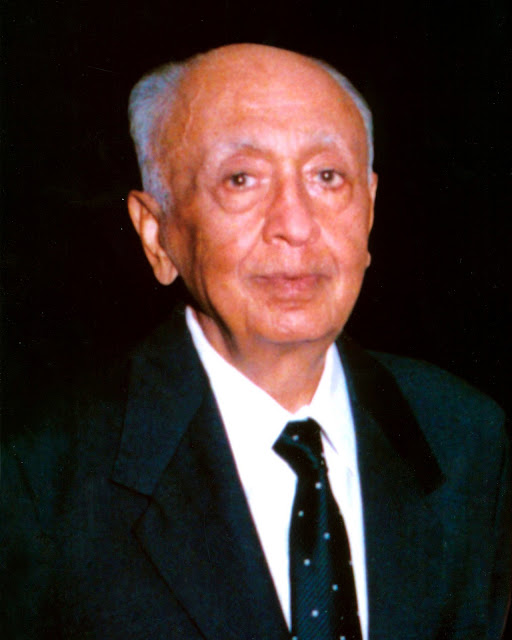 Late Shri Naresh Tandan (Mrs. Kiran Nadars Father) in whose memory the HCL Bridge Tournaments Team of Four Trophy has been instituted.