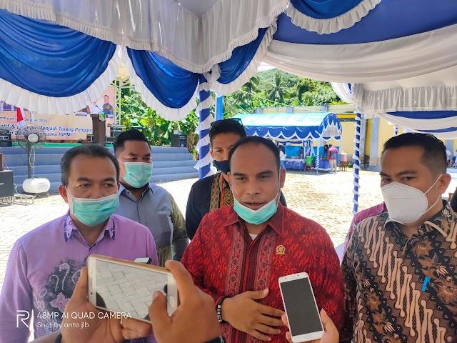 Ketua DPRD Kotabaru Hadiri Pencanangan Zona Integritas LP