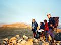 Stu, Nigel, Christine & Keith Nantlle Ridge, Snowdonia. Mid-90's ?