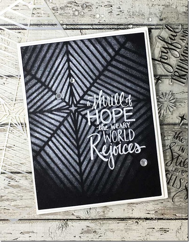 Thrill Of Hope Closeup