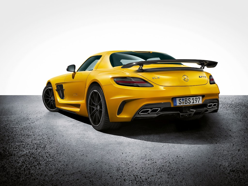 2014 Mercedes-Benz SLS AMG Black Series 2