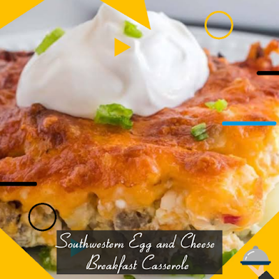 Southwestern egg and cheese breakfast casserole Recipe