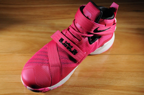 First Look at LeBron Soldier IX Kay Yow  Think Pink