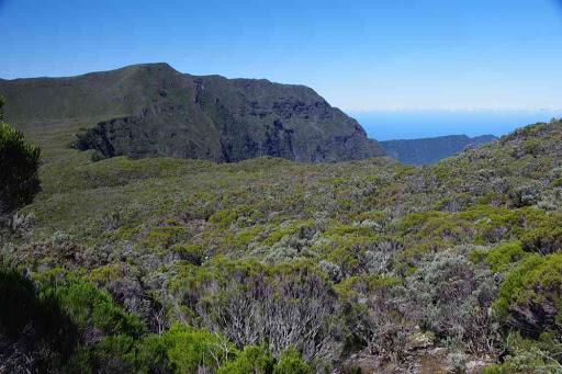 La crête (coteau Kervéguen), pendant la descente.