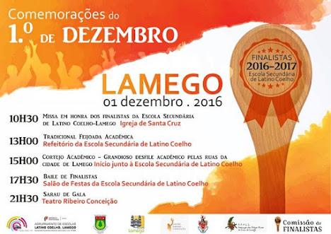Comemorações do 1º de Dezembro - Lamego - 2016